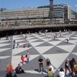 Стокгольм. Торговая площадь
