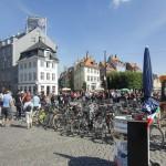 Копенгаген - город велосипедов.