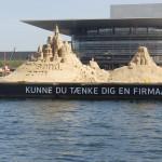 Копенгаген. Фестиваль песчаных скульптур