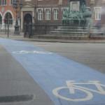 Копенгаген. Велодорожки порой шире, чем проезжая часть